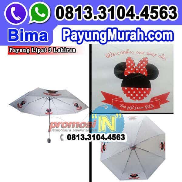Produksi Payung Souvenir Kelahiran Grosir Murah